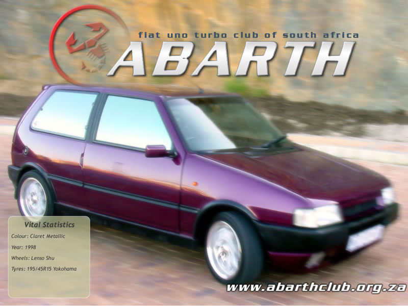 Wallpapers Abarth Fiat Uno Turbo Club Of South Africa